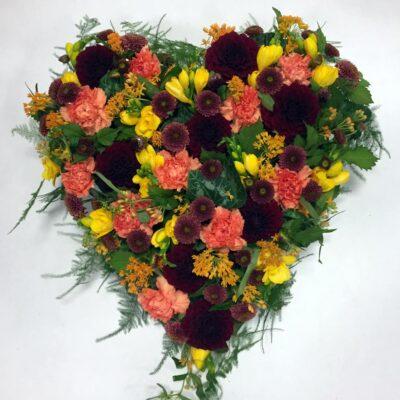 Begravelse hjerte uden bånd