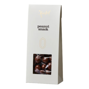 Peanut snack med mælkechokolade
